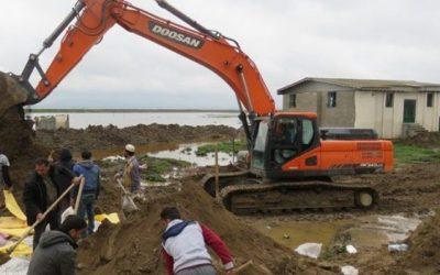 احداث ۲۹ کیلومتر دایک حفاظتی برای مدیریت سیل در استان گلستان