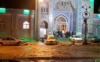 آسیب سیلاب به خطوط و شبکه توزیع آب سه روستای مشهد اردهال کاشان